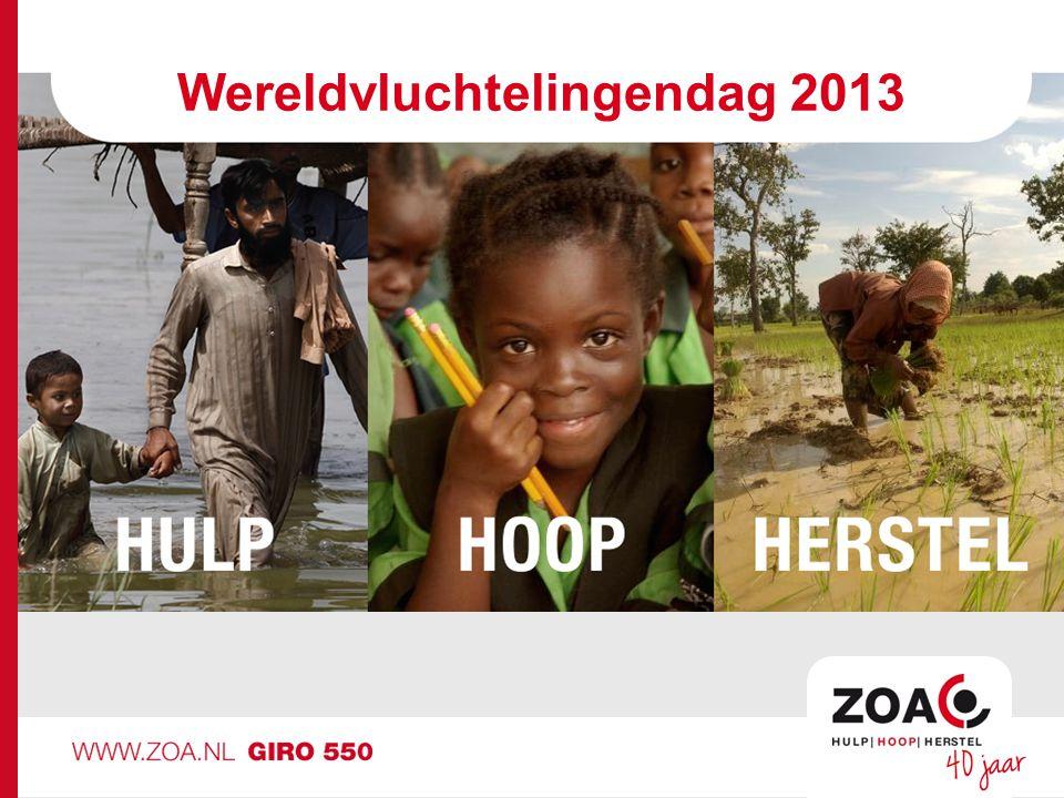 Wereldvluchtelingendag 2013