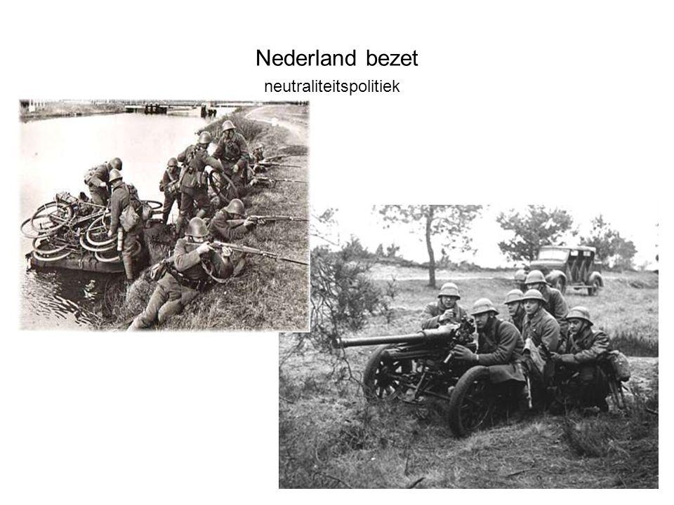 Nederland bezet Hongerwinter