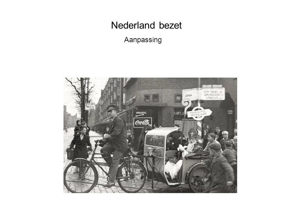 Nederland bezet Aanpassing