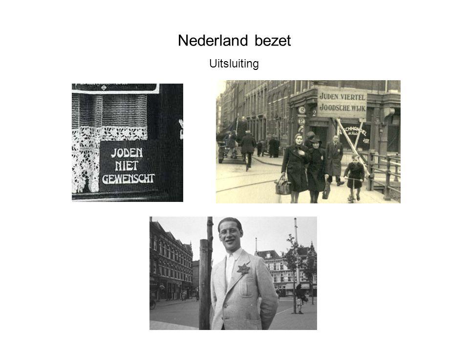 Nederland bezet Uitsluiting