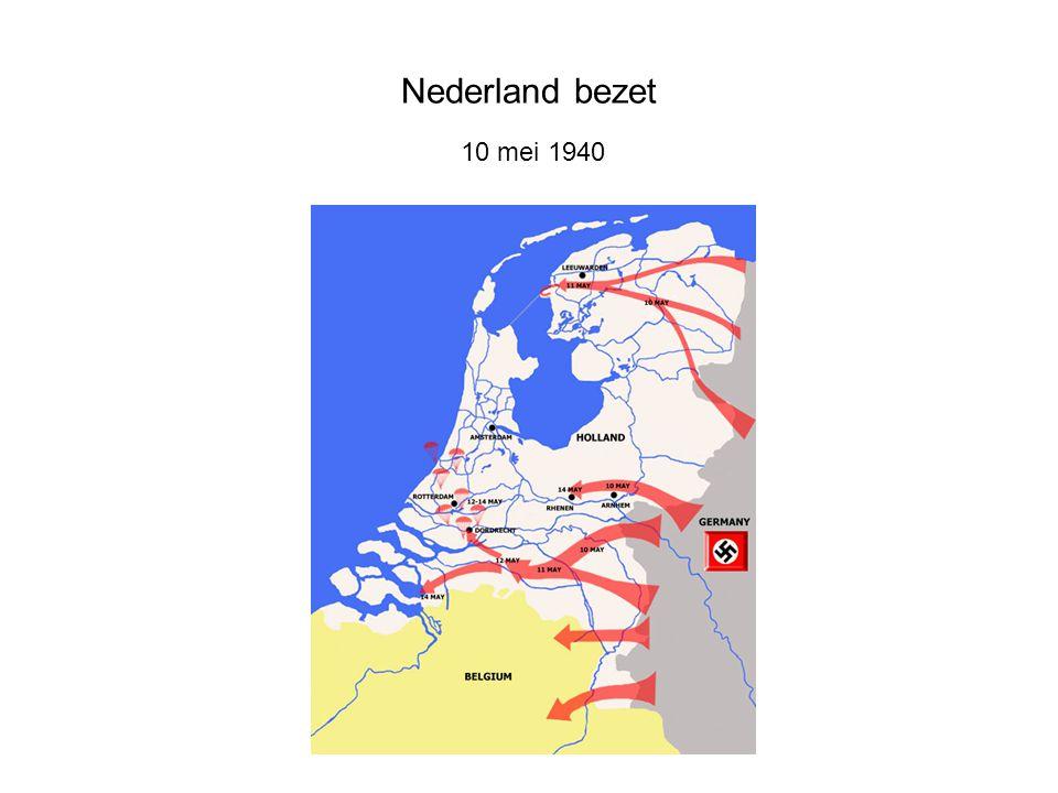 Nederland bezet 10 mei 1940