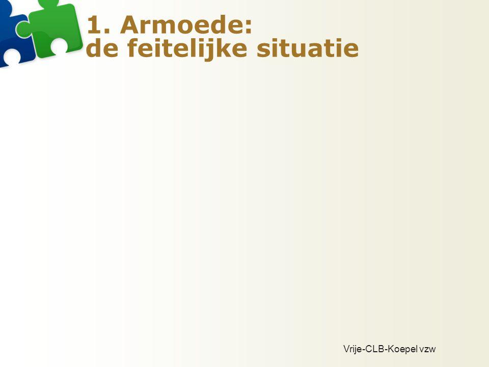 CLB-omkadering kansarmoede  Pieter Breughel (Brussel): 8,96  De Wissel (Antwerpen): 8,91  Waas en Dender: 5,84  Kempen: 4,91  Gent: 4,61  Kompas (Mechelen): 3,10  Maasland: 2,39  Kortrijk: 2,35  Genk: 2,20  Leuven: 1,19  Halle: 1,16  Aalst: 1,15  Torhout: 1,12  Hasselt: 1,08  Ninove: 1,08  Menen: 1,03  Waregem: 0,98  Neerpelt: 0,98  Ieper: 0,97  Vorselaar (AMI 1): 0,95  Veurne: 0,94  Eeklo: 0,92  Tongeren: 1,67  Beringen: 1,64  Brugge: 1,57  Houthalen: 1,56  Mortsel (AMI 2): 1,50  Brasschaat (VNK): 1,49  Roeselare: 1,40  Asse (NWB): 1,38  Oostende: 1,34  Oudenaarde (ZOV): 1,29  Wetteren: 0,81  Tielt: 0,76  Bree: 0,71  Deinze: 0,61  Blankenberge: 0,58  Izegem: 0,55  Aarschot: 0,52  Diest: 0,51  Tienen: 0,45  Poperinge: 0,43  Haacht: 0,17