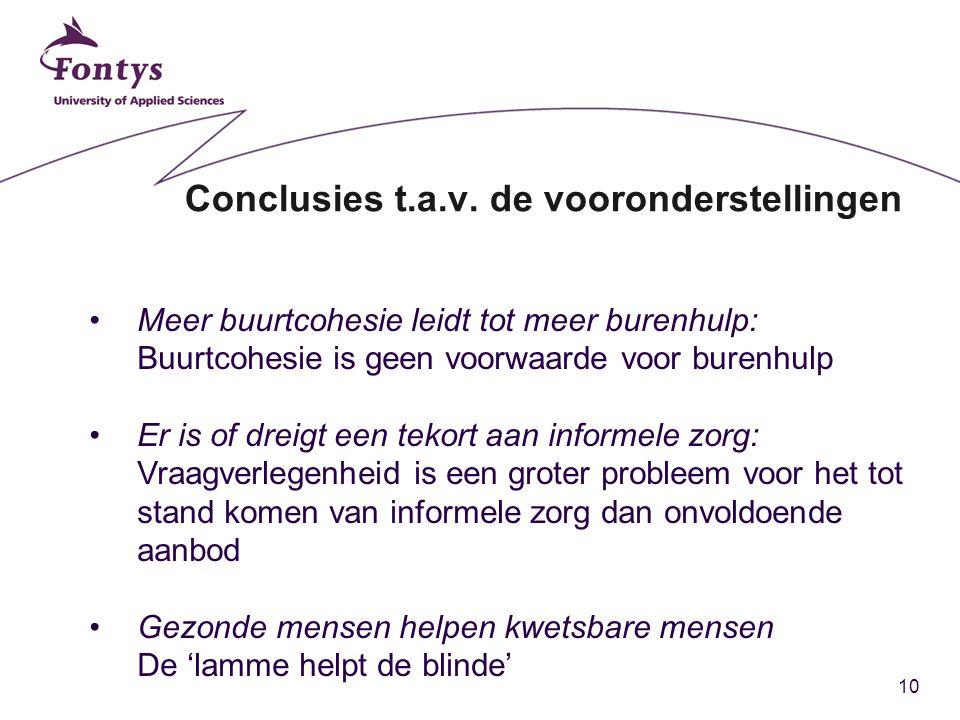 10 Conclusies t.a.v.