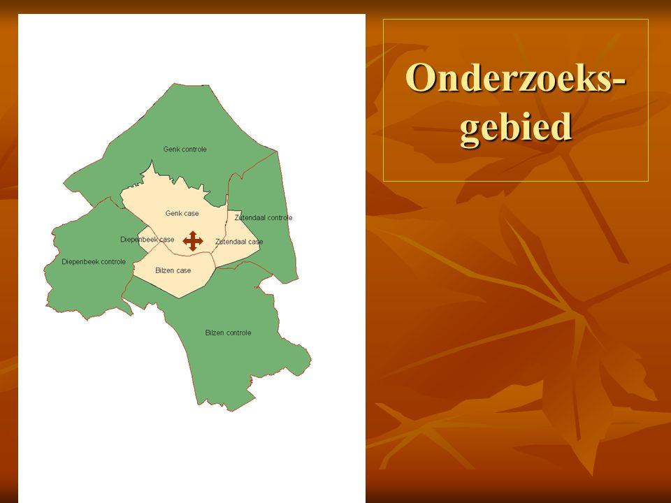 Gebieden in Genk