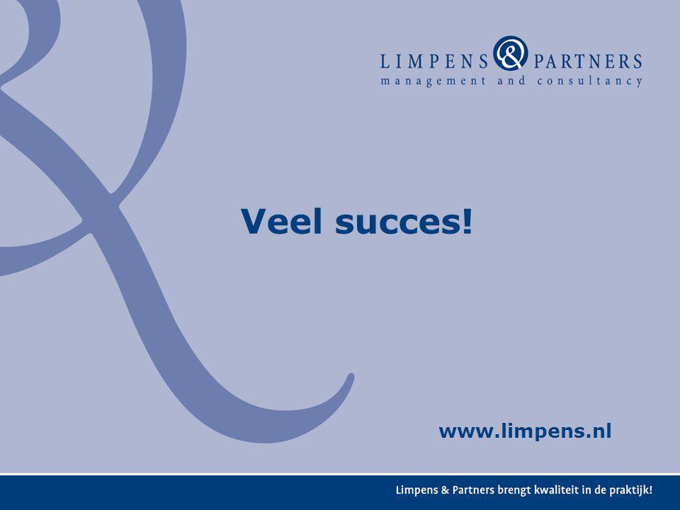 Veel succes! www.limpens.nl