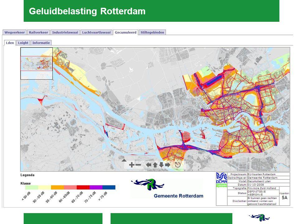 Geluidbelasting Rotterdam