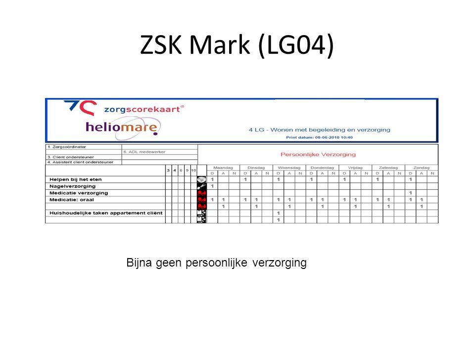 ZSK Mark (LG04) Bijna geen persoonlijke verzorging