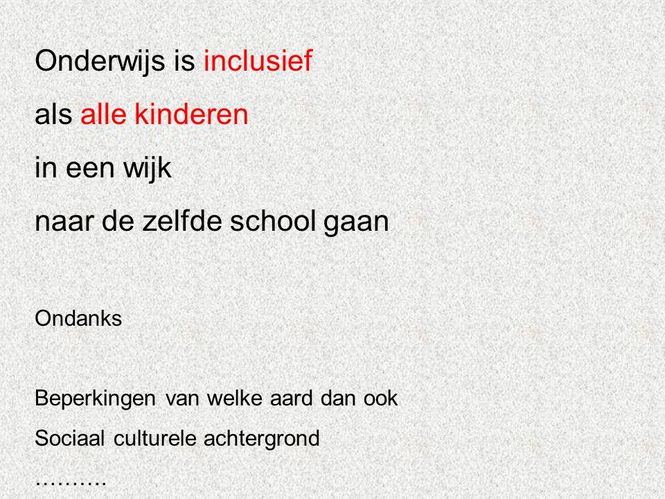 Inclusief School + Gemeenschap