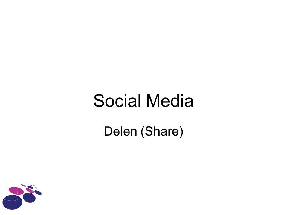 Social Media Delen (Share)