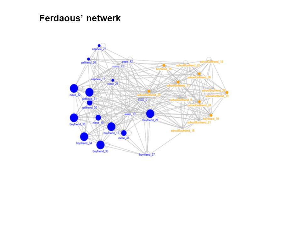 Ferdaous' netwerk