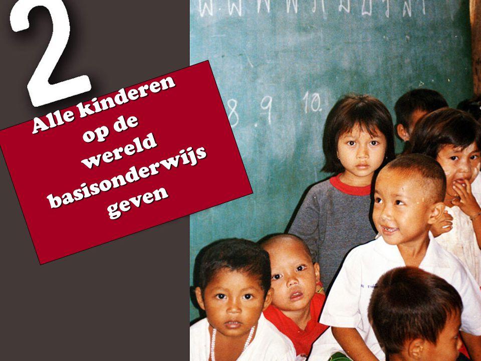 Alle kinderen op de wereld basisonderwijs geven