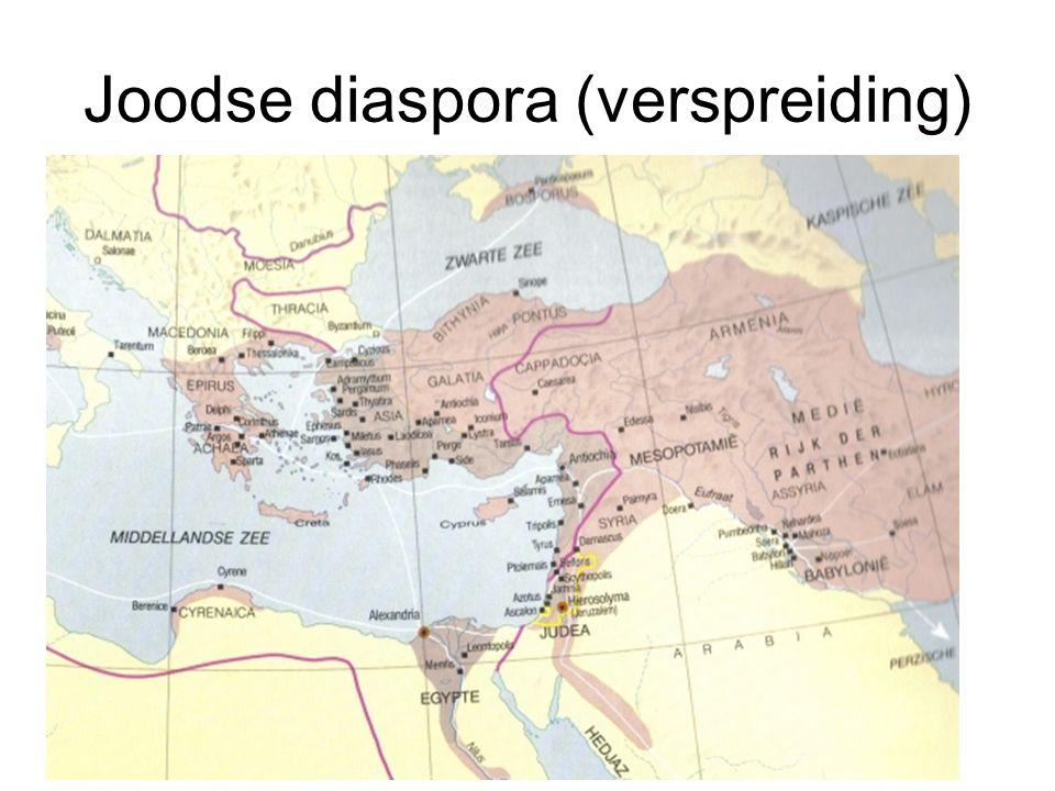 Joodse diaspora (verspreiding)