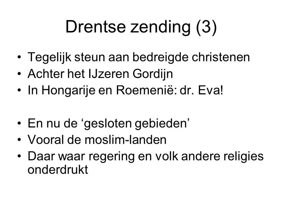 Drentse zending (3) Tegelijk steun aan bedreigde christenen Achter het IJzeren Gordijn In Hongarije en Roemenië: dr.