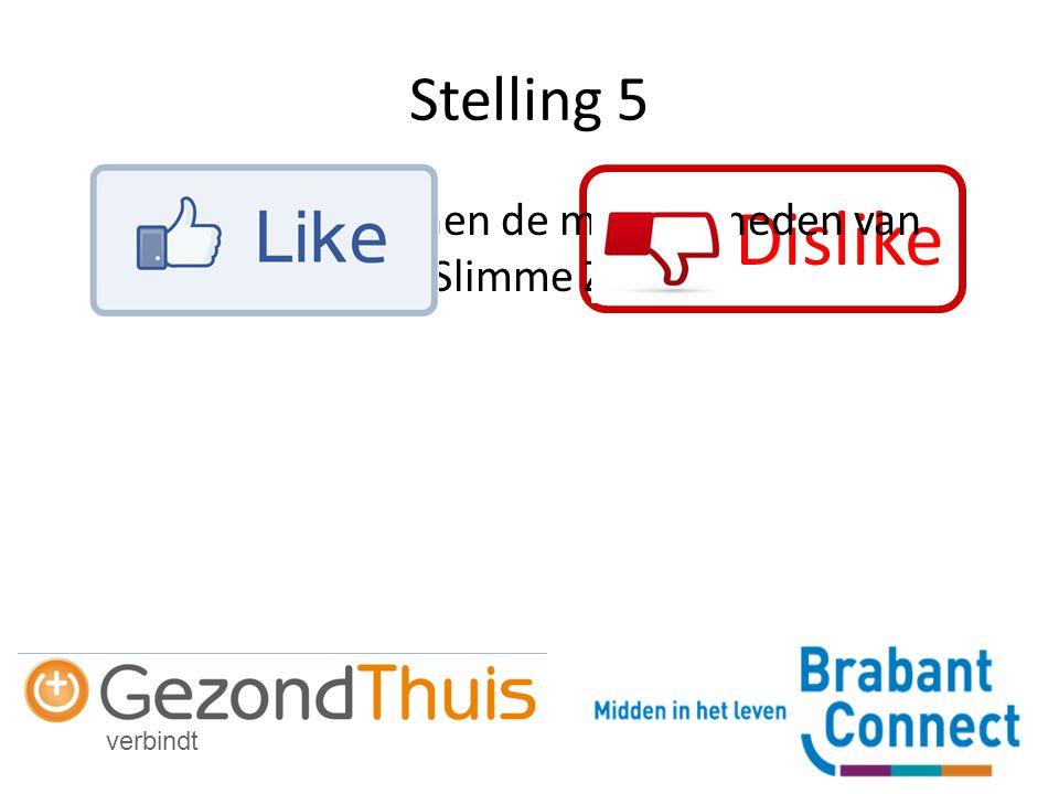 verbindt Dislike Stelling 5 Gemeente kennen de mogelijkheden van Slimme Zorg