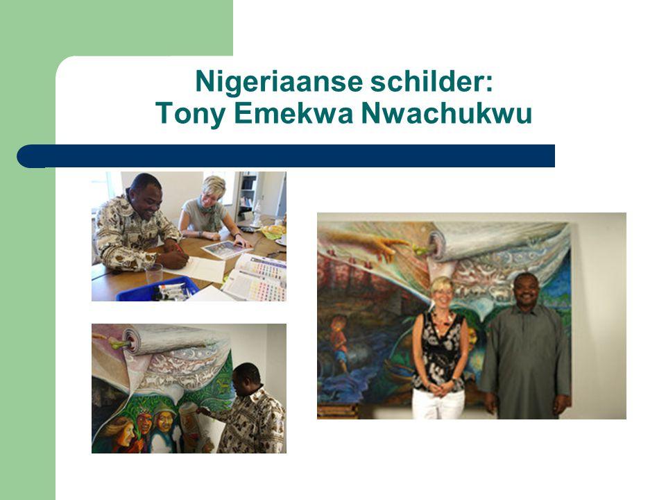 Nigeriaanse schilder: Tony Emekwa Nwachukwu