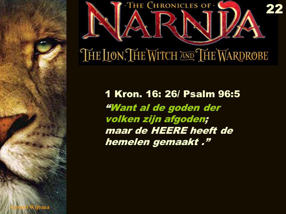 Gerard Wijtsma 23 Ezechiël 8:10/17 Toen ik binnen was en rondkeek, zag ik op de muren om me heen allerlei afbeeldingen van de afgoden van het volk van Israël, van kruipende beesten en andere dieren, stuk voor stuk onrein.