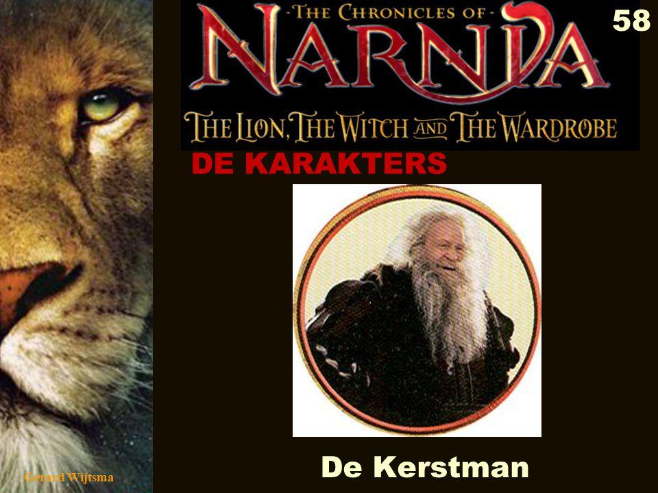 Gerard Wijtsma 59 Kabouters Kobolds (Duitsland) Leprechauns (Ierland) Trollen (Scandinavië) Satyrs (Griekenland) Jinn (Arabië) Seirim/ruigen/harigen (Israël)