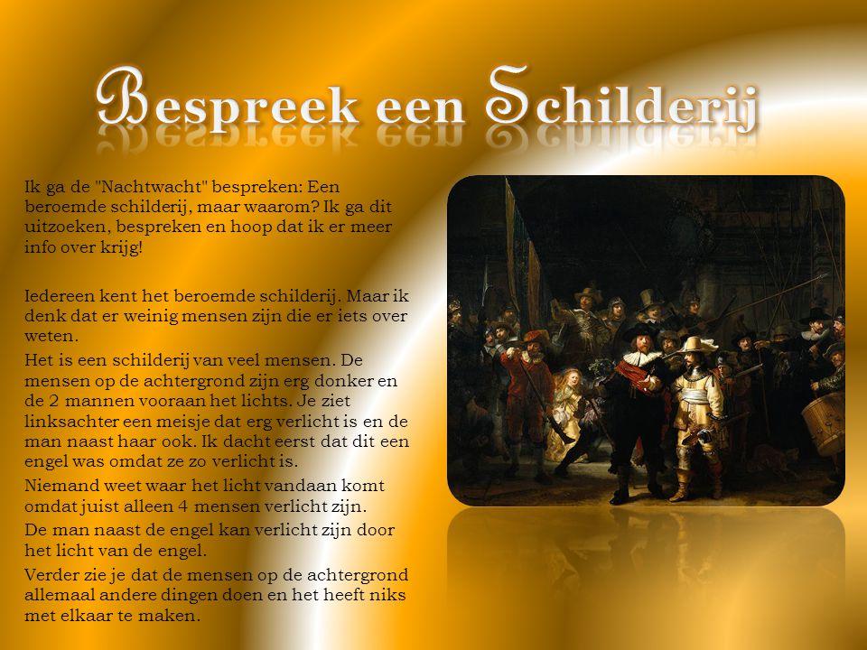 Rembrandt maakt van De nachtwacht weer een bijzonder schilderij.