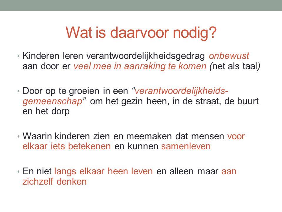 Conclusie Op weg naar Centrum voor Buurt/Dorp, Jeugd en Gezin (?)