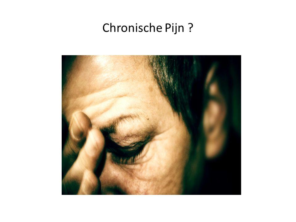 Chronische Pijn ?