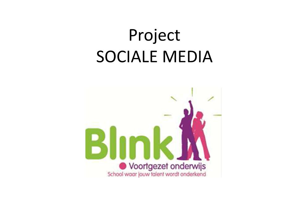 Project SOCIALE MEDIA