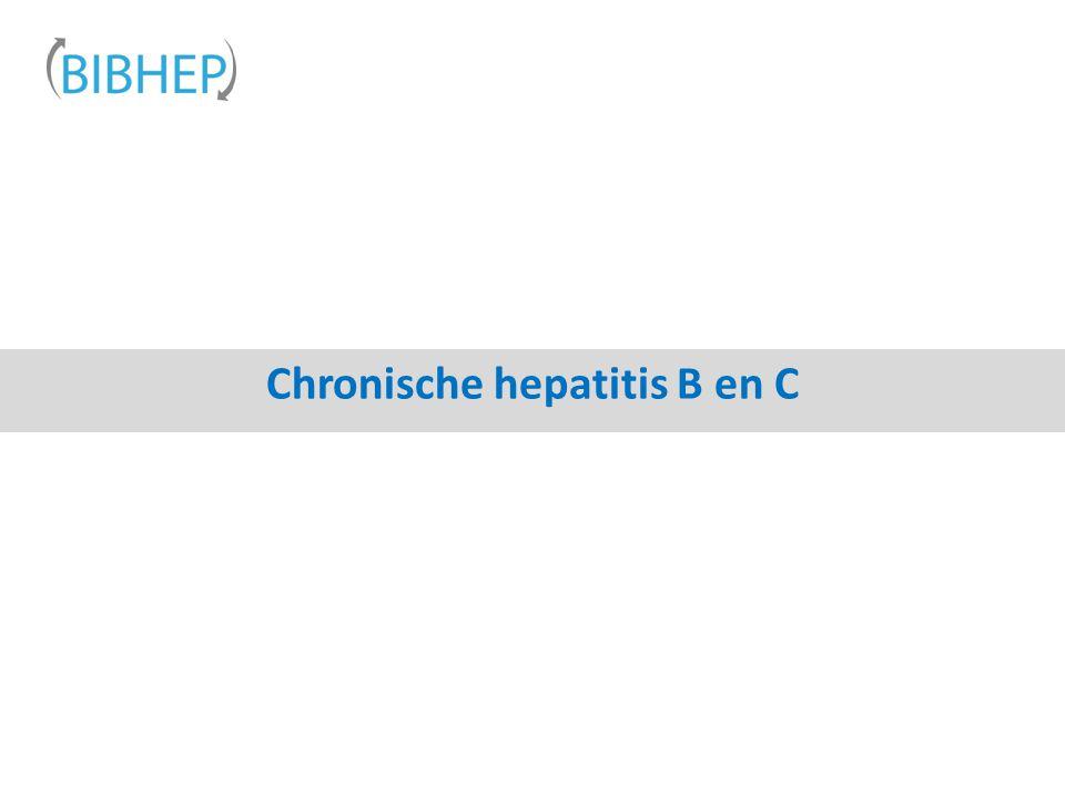Chronische hepatitis B en C