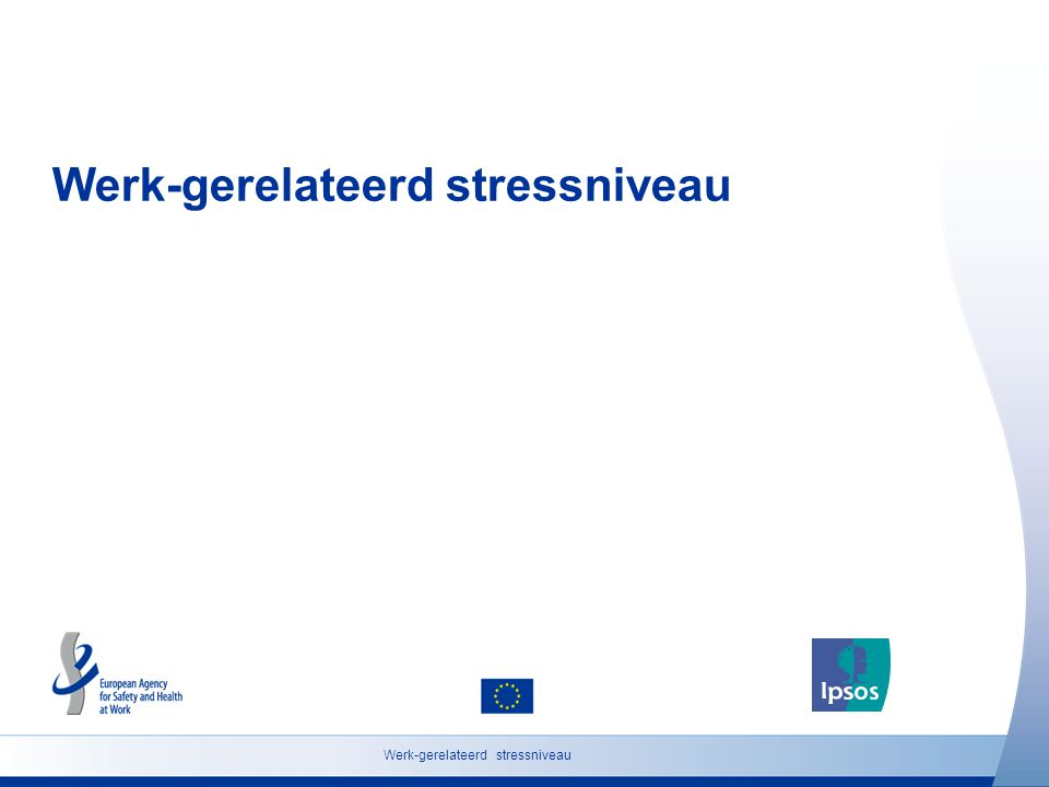 Werk-gerelateerd stressniveau