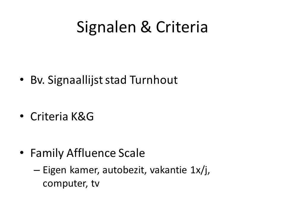 Signalen & Criteria Bv.