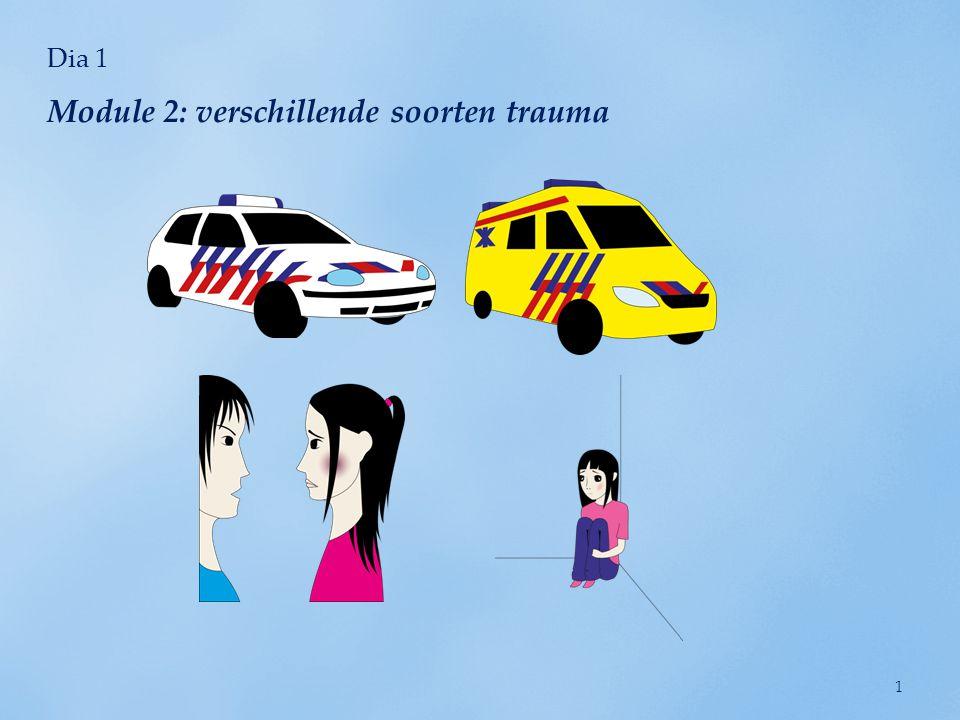 Dia 2 Wat betekent het woord trauma? 2