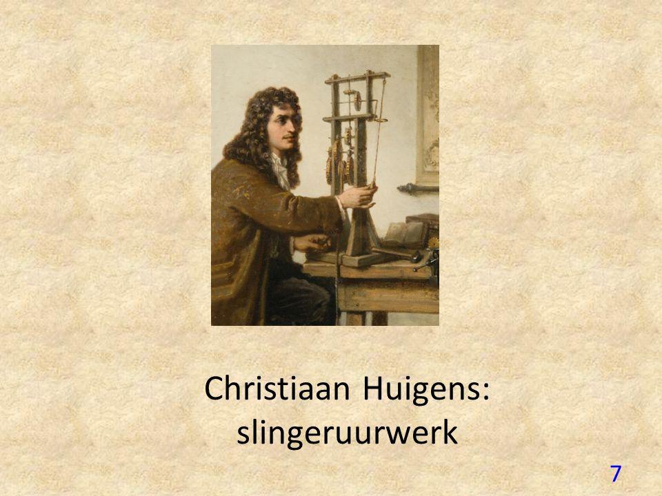 6 2. De uitvinding van de klok Nacht? Klokken uitgevonden: Gewichten : kerken – touwen – alle mensen Slinger uurwerk door C.Huigens 1675: elke seconde