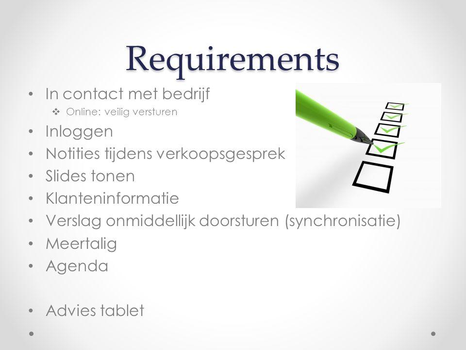 Budget Totaal = € 34 248 Requirements AnalyseDevelopmentTestingDeployment 76 uur103 uur279 uur8 uur opleiding key- users 180 uur € 45 /h€ 59 /h€ 53 /h = € 3 420= € 6 077= € 14 787= € 424= € 9 540