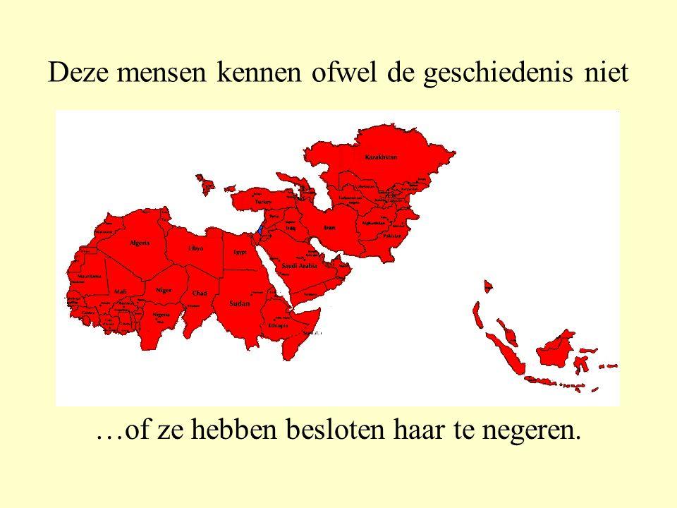 Veel mensen zeggen….. …dat dit kleine landje niet zou mogen bestaan, midden tussen de Mohammedanen