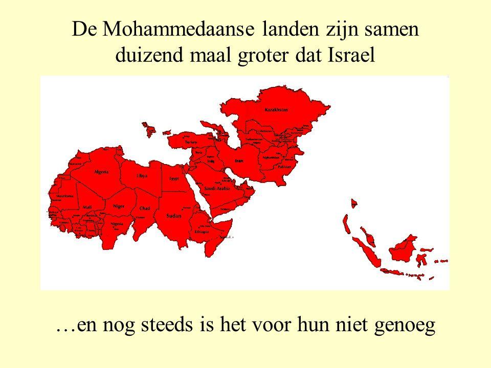 Dit ondanks het feit dat… …Mohammedanen van overal ter wereld in de richting van Mekka bidden  Jerusalem