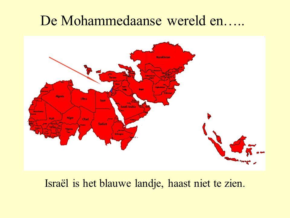 Dit zijn de landen door Mohammedanen bestuurd.