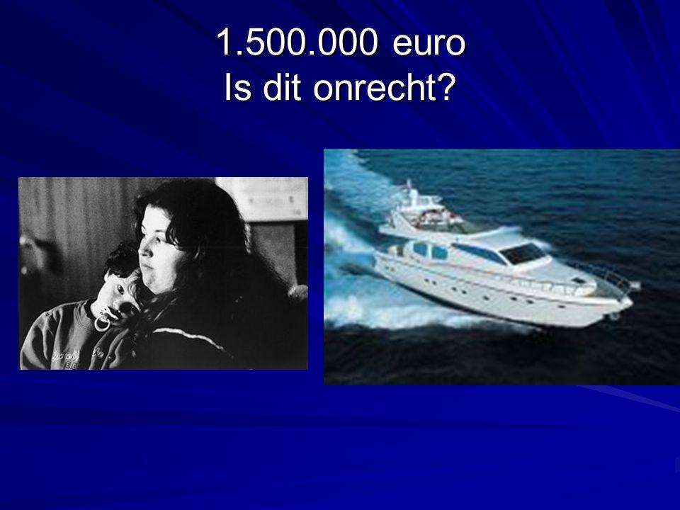 1.500.000 euro Is dit onrecht