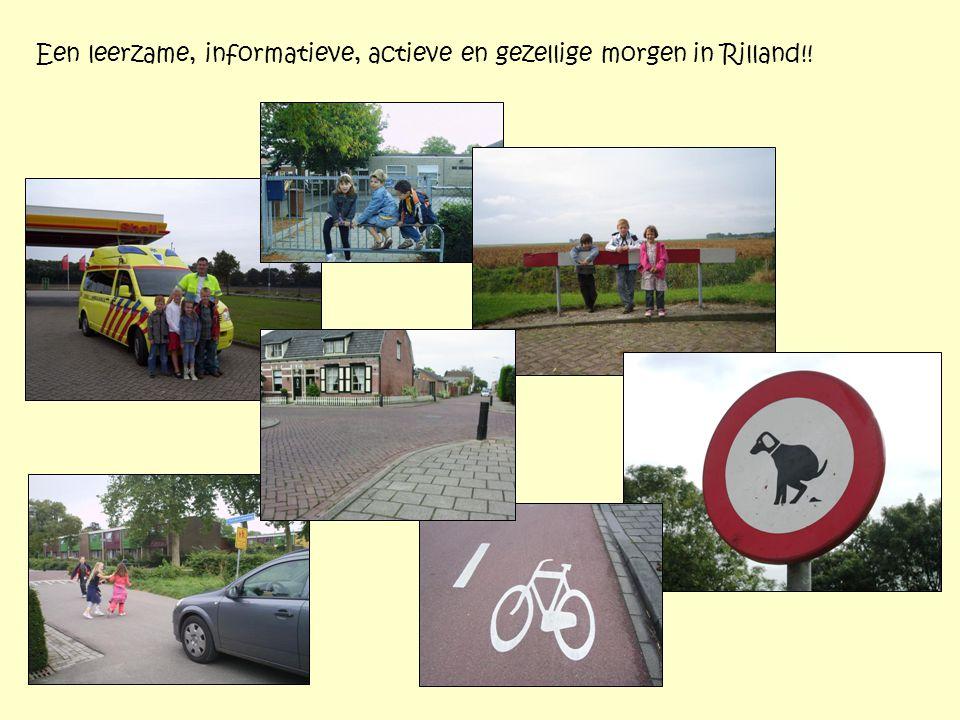 Een leerzame, informatieve, actieve en gezellige morgen in Rilland!!