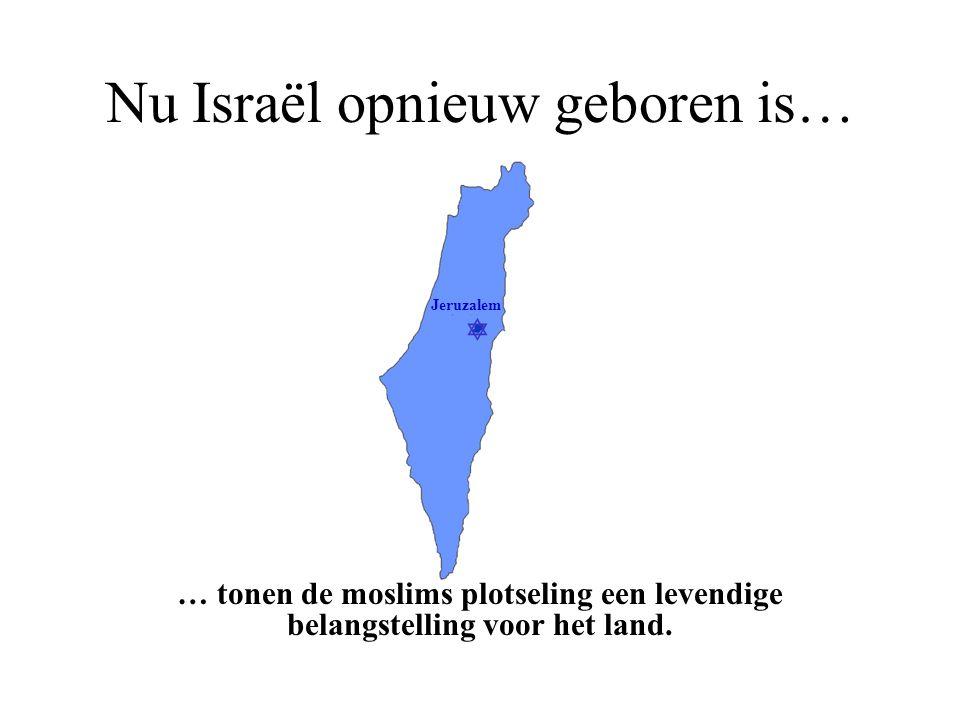  Jeruzalem Zij weten niet dat… …Israël het enige land is dat hier ooit heeft stand gehouden.