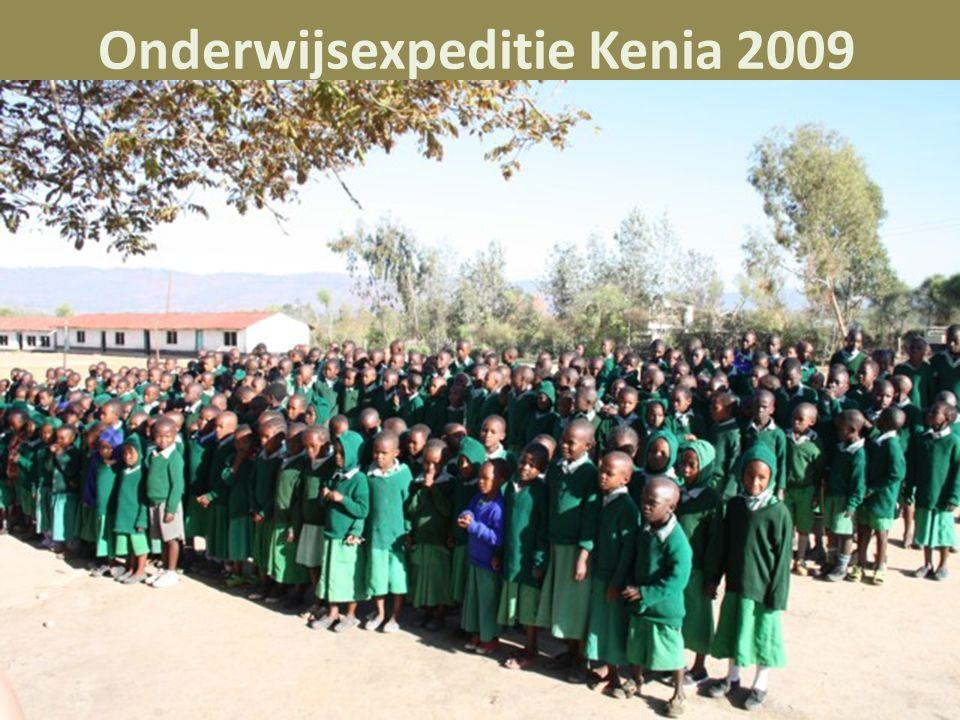 Onderwijsexpeditie Kenia 2009