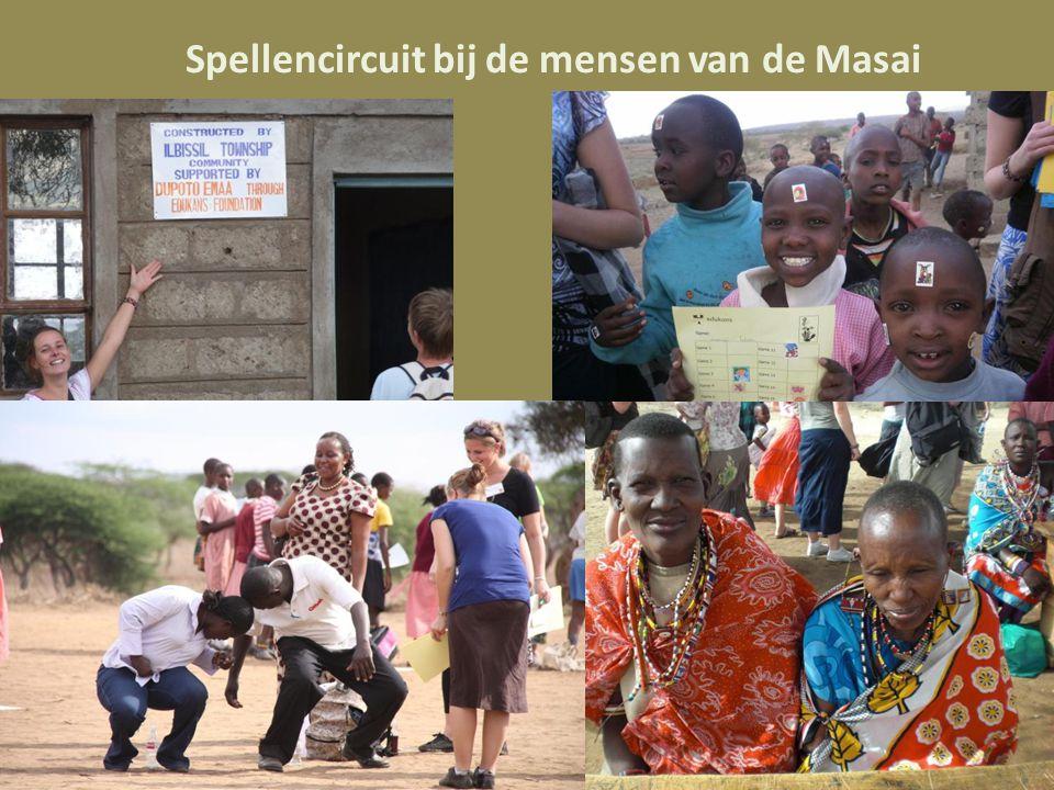 Spellencircuit bij de mensen van de Masai