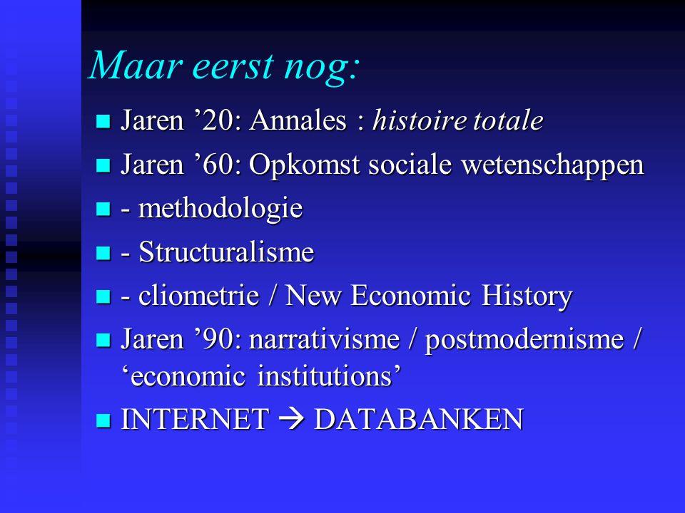 Methodologie sociale wetenschappen Probleemstelling / hypothese (positivisme!) Probleemstelling / hypothese (positivisme!) Model Model  Algemeen geldig  Intersubjectief overdraagbaar  Toetsbaar Inductie / deductie Inductie / deductie