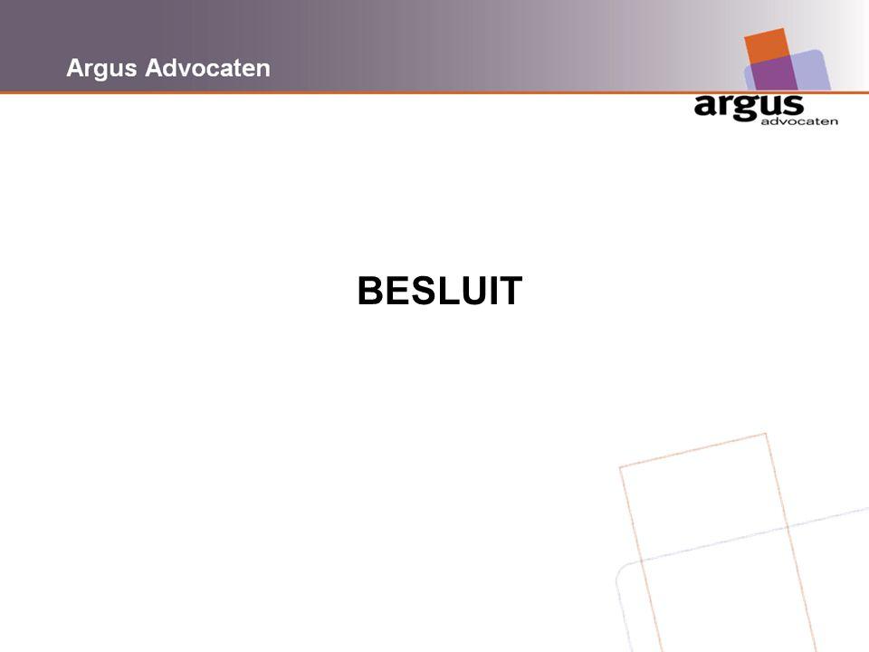 Argus Advocaten BESLUIT
