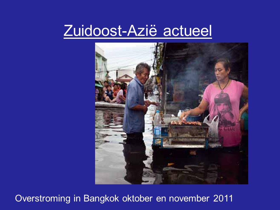 Zuidoost-Azië actueel Overstroming in Bangkok oktober en november 2011