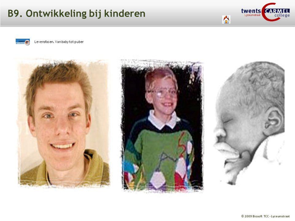© 2009 Biosoft TCC - Lyceumstraat B9. Ontwikkeling bij kinderen Levensfasen. Van baby tot puber