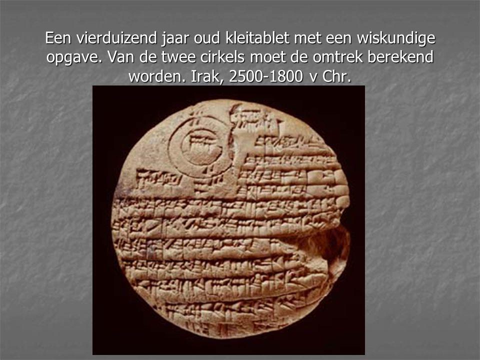 Spijkerschrift Mesopotamië.