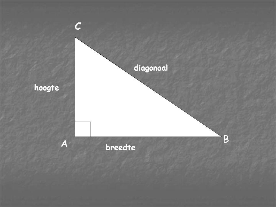 nr?????? (1eK) Breedte AB (2eK) Diagonaal BC (3eK) Hoogte AC (niet opgenomen) 1119169 2336711521 (4825) 346016649 41270918541 5 6 7 8 9541 (481) 769 1