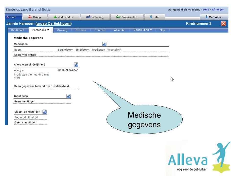 Medische gegevens
