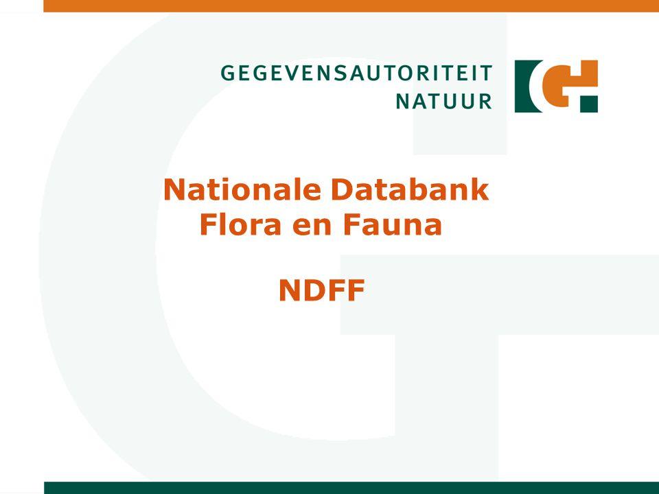 Nationale Databank Flora en Fauna NDFF