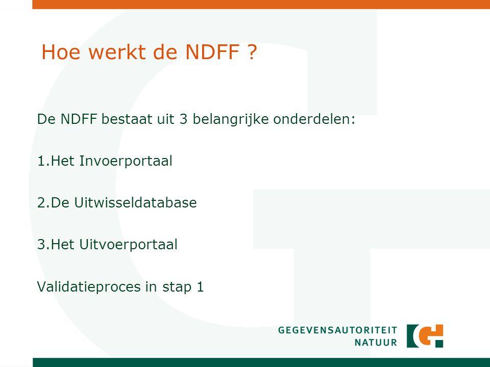 Hoe werkt de NDFF .