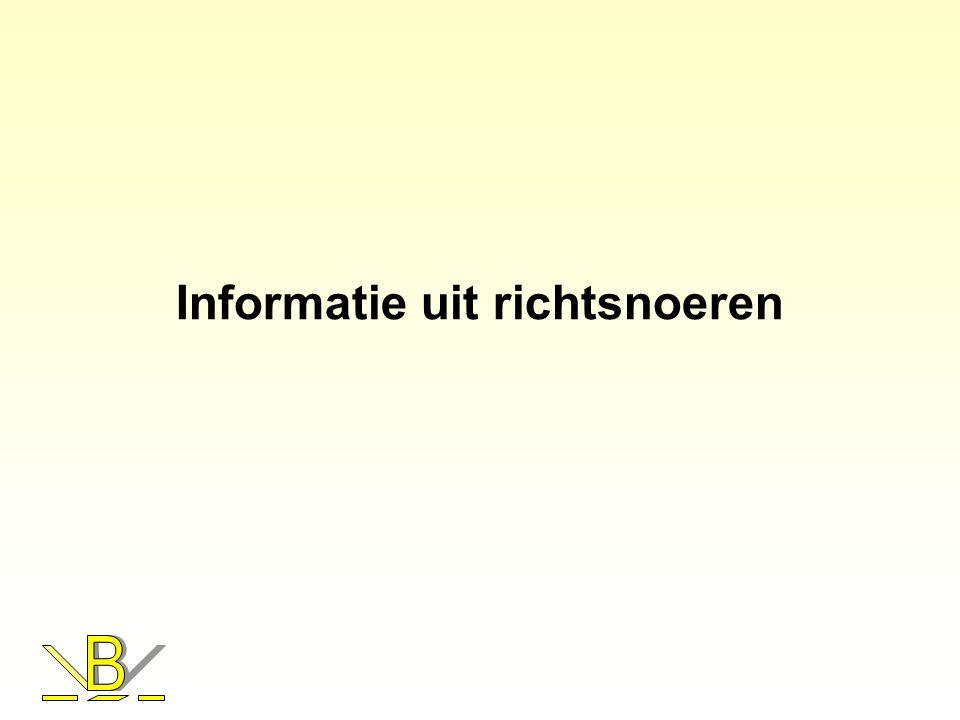 Informatie uit richtsnoeren