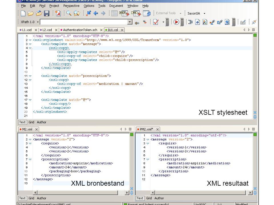 Marc de Graauw http://www.marcdegraauw.com/ XSLT stylesheet XML bronbestandXML resultaat